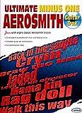 Aerosmith Ultimate Minus One Guitar Tab Book/Cd