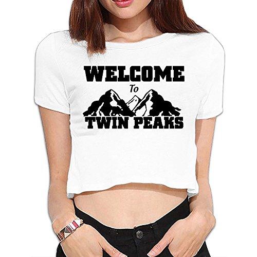 TWIN PEAKS Lodge Laura Womans T Shirt Nice Navel T-shirts (Twin Peaks T Shirt Womens compare prices)