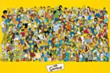 Matt Groening Poster / Kunstdruck Simpsons full cast 93 x 62 cm