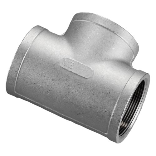 Stainless Steel 316 Cast Pipe FittingTeeClass 150NPT Female stainless steel fittings pipe
