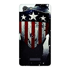 Ajay Enterprises Real Vintage Shield Multicolor Back Case Cover for Micromax Unite 3