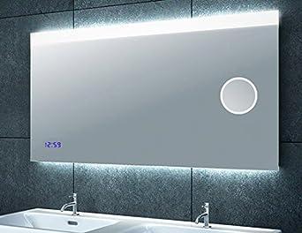 Miroir de salle de bain les bons plans de micromonde - Miroir lumineux pour salle de bain ...