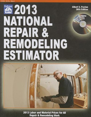 2013 National Repair & Remodeling Estimator - Craftsman Book Co - 1572182857 - ISBN: 1572182857 - ISBN-13: 9781572182851