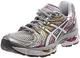 ASICS Women's GEL-Nimbus 13 Running Shoe,Lightning/White/Magenta,7.5 M US