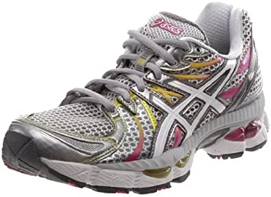 ASICS Women's GEL-Nimbus 13 Running Shoe,Lightning/White/Magenta,6 (2A) US
