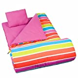 Wildkin Bright Stripes Original Sleeping Bag - One Size