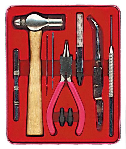 darice 1201 38 crafter 39 s tool set with carrying case home garden emergenc. Black Bedroom Furniture Sets. Home Design Ideas