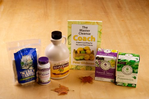 Master Cleanse 5-Day Organic Kit With Book: The Master Cleanse Coach