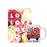 Valentine Gift With Fondness Greeting Card N Love Mug GIFTS110426 Romantic Valentine Gift,Valentine Gift For Him...