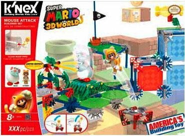 Super Mario 38635 Cat Mario Building Set