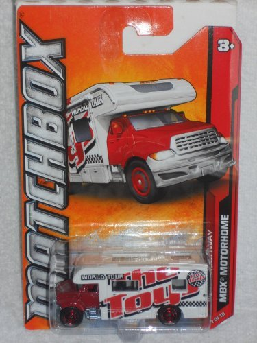 Matchbox MBX Highway MBX Motorhome Red/White #87/120
