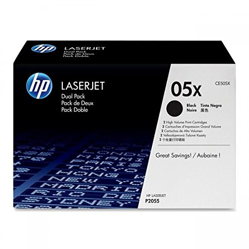 Hewlett Packard HP No. 05X Laser Toner Cartridge Page Life 13000pp Black Ref CE505XD Pack of 2 Black Friday & Cyber Monday 2014
