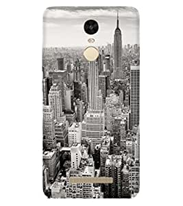 PRINTSWAG CITY Designer Back Cover Case for Xiaomi Redmi Note 3