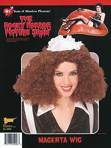 Bristol Novelty Brown Magenta Wig Wigs - Women's - One Size bristol