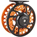 Fiblink Fly Fishing Reels with Large Arbor 2+1 BB, CNC machined Aluminum Alloy Body and Spool in Fly Reel Sizes 5/6, 7/8 by Fiblink