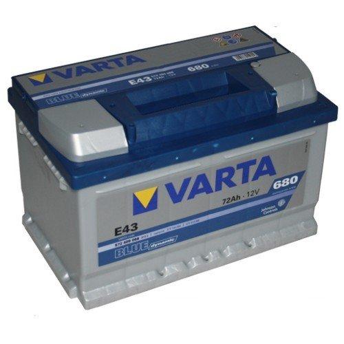 VARTA E43 Blue Dynamic / Autobatterie / Batterie