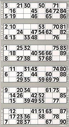 Jumbo Bingo gris