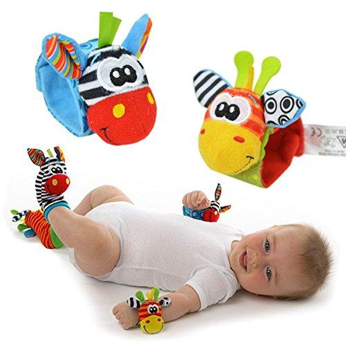 EJY Bébé Infant Hochet pour Poignets, Développement Jouets