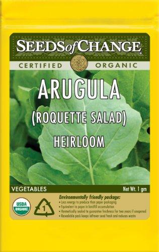Seeds of Change S10637 Certified Organic Arugula
