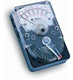 Triplett 3018 Hand-Sized Analog Multimeter Voltmeter Ohm Meter with 18 Ranges and Functions