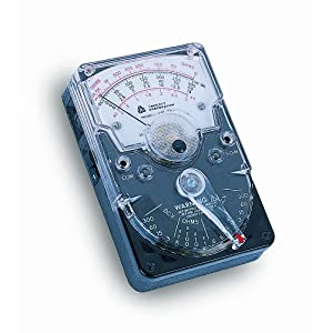 Triplett 310 Analog Hand Sized Volt-Ohm Meter with 18 Ranges and Functions, 1200V AC/DC at Sears.com