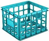 Sterilite 16924306 Storage Crate, 6-Pack