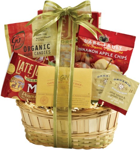 Broadway Basketeers Organic and Natural Healthy Gift Basket