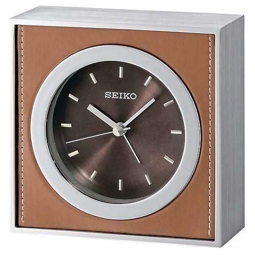 Uhr Seiko Sobremesa Qhe064b 0 Braun