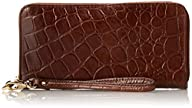 Fossil Sydney Croc B Clutch,Brown,One…