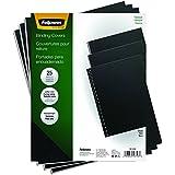 Fellowes Binding Presentation Covers, Letter, Black, 25 Pack (5224901)
