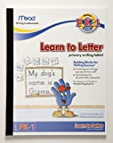 """Mead 48166 Learn to Letter Tablet, 10"""" x 8"""", 40 Sheets"""