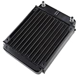 AGPtek® 12 Pipe Aluminum Heat Exchanger Radiator for PC CPU CO2 Laser Water Cool System Computer