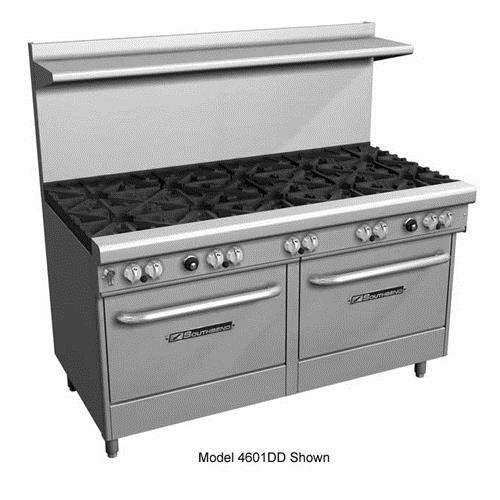 "Southbend - 4603Dd-2Gl - 400 Series 60"" Restaurant Range W/ 6 Star Saute Burners & 24"" Griddle"
