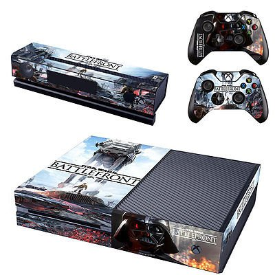 STAR-WARS-BATTLEFRONT-VADER-SKIN-STICKER-XBOX-ONE