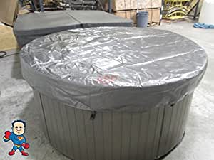 Spa hot tub cover cap sun shield 72 round American home shield swimming pool coverage