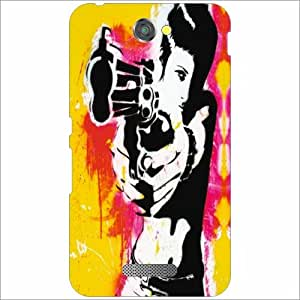 Sony Xperia E4 Back Cover - Shooter Designer Cases