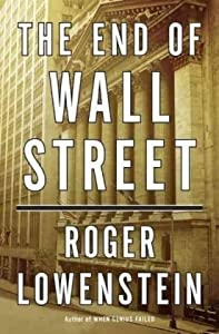 Cover of &quot;The End of Wall Street&quot;