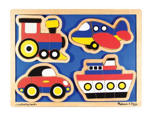 Cheap Fun On the Go Wooden Puzzle by Melissa & Doug (B000UJWBBC)