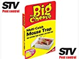 THE BIG CHEESE Multi-Catch Mouse Trap Self Setting For Multiple Catch - Small STV162