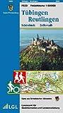 Tübingen, Reutlingen, Schönbuch, Zollernalb: Karte des Schwäbischen Albvereins  (Freizeitkarten 1:50000)
