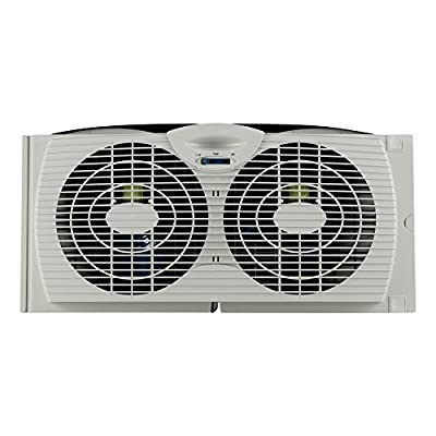 New Fan Buddy Fan Filter with Replaceable Activated Carbon Layers - Made for Holmes Window Fan FILTER ONLY, Fan Not Included