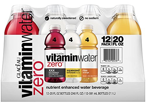 Vitaminwater Zero Variety Pack , 12 Ct, 20 Fl Oz Bottle