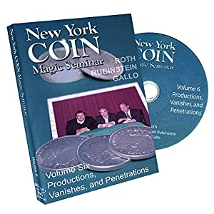 MMS New York Coin Seminar Volume 6: Productions, Vanishes and Penetrations - DVD