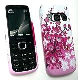 Emartbuy® Nokia 6700 Classic Gel Skin Cover Pink Blossom