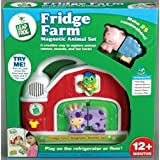 Toy / Game Leap Frog Fridge Farm Magnetic Twenty Five Wacky Animal Set With Farmer Tad Plays Five Banjo Tunes