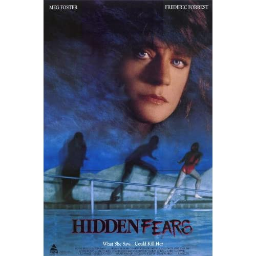 Hidden Fears Poster Movie 11x17 Meg Foster Frederic Forrest Wally