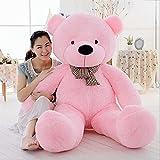 MorisMos Giant Cute Soft Toys Teddy Bear for Girlfriend Kids Teddy Bear (Pink, 55 Inch) (Color: Pink, Tamaño: 55 Inch)