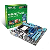 ASUS M4A78LT-M LE Carte-mère micro ATX Socket AM3 AMD 760G Gigabit Ethernet carte graphique embarquée audio HD (8 canaux)