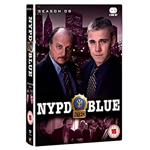 NYPD Blue Season 6 [DVD] [Import anglais]