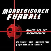 Mörderischer Fußball Hörbuch von Dörthe Huth Gesprochen von: Werner Hansch, Ulrike von der Groeben, Sabine Töpperwien